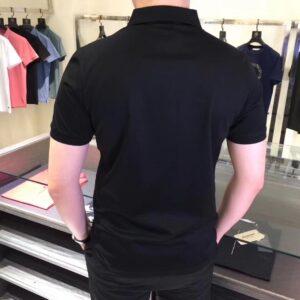 Áo Louis Vuitton nam siêu cấp họa tiết kẻ trắng AOLV04