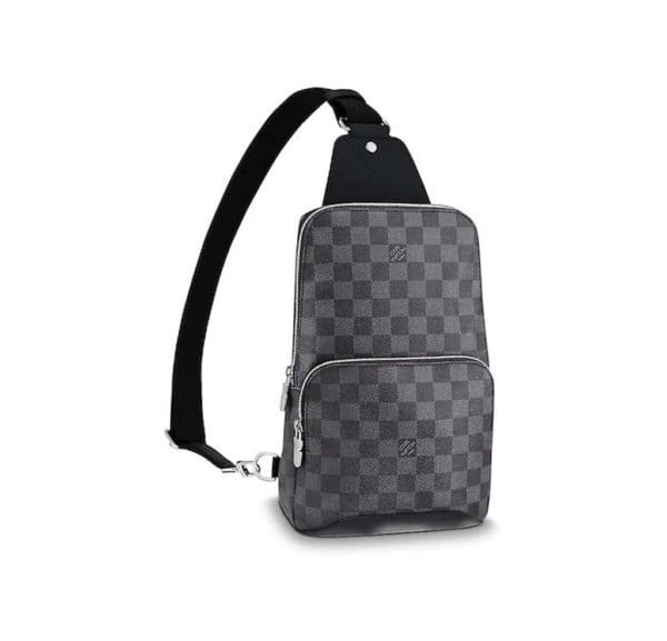 Túi đeo chéo Louis Vuitton siêu cấp bao tử họa tiết caro TDCLV12