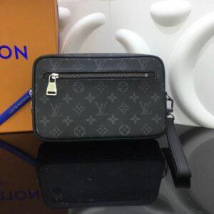 Ví nam Louis Vuitton siêu cấp cầm tay họa tiết hoa hình hộp VNLV73
