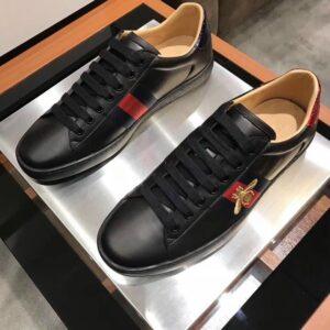 Giày nam Gucci like au họa tiết ong đen GNGC12