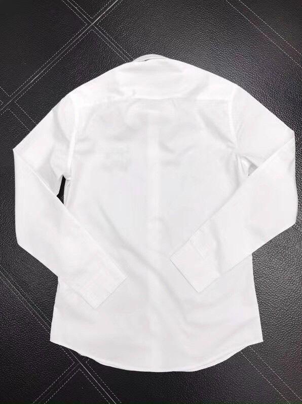 Áo sơ mi Louis Vuitton siêu cấp nam họa tiết chữ trắng AOLV05