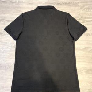 Áo nam Louis Vuitton siêu cấp hoa chìm full đen AOLV10