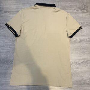 Áo phông Louis Vuitton siêu cấp hoạ tiết logo thêu màu nâu APLV11