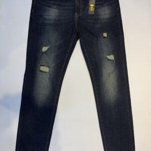 Quần bò Dolce & Gabbana siêu cấp mài rách màu đen QBDG530