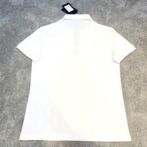 Áo phông Burberry siêu cấp full trắng kẻ chìm APB05