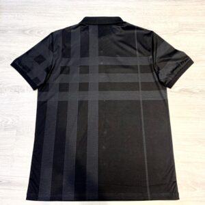 Áo phông Burberry siêu cấp màu đen kẻ xám APB04