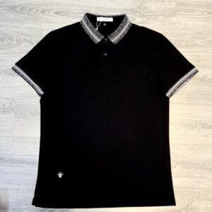 Áo phông Dior siêu cấp full đen họa tiết nhện trắng APD05