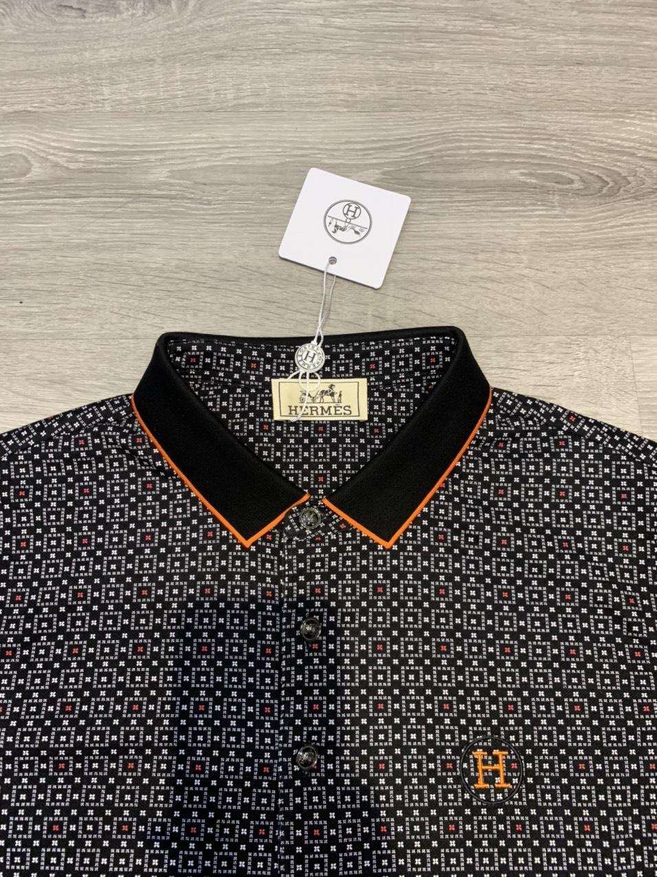 Áo phông Hermes siêu cấp họa tiết thổ cẩm APH04