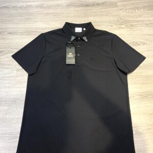 Áo phông Versace siêu cấp màu đen cổ đá APV01