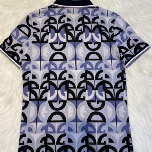 Áo phông Dolce & Gabbana siêu cấp full đen họa tiết chữ DG APDG03