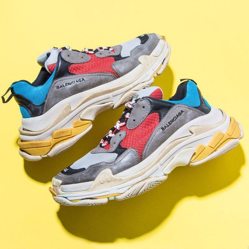 Giày Balenciaga với mẫu giày độc đáo, mới lạ và gây sốt cộng đồng người yêu thời trang phong cách thể thao