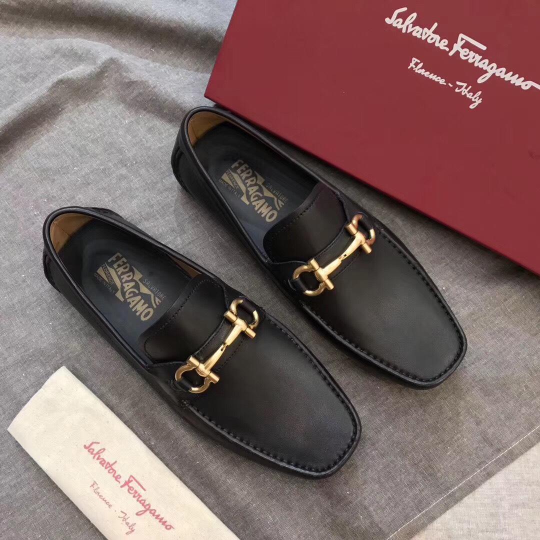 Giày Salvatore Ferragamo Italy với thiết kế tỉ mỉ trong từng đường may