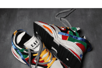 Giày Sneaker với kiểu dáng tinh tế