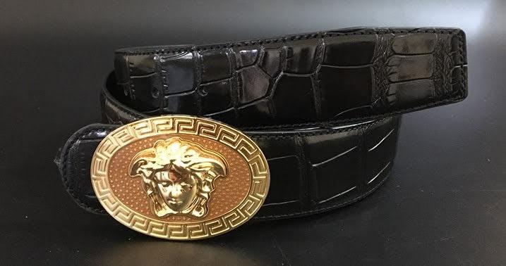 Thắt lưng nam hàng hiệu từ Mỹ Versace